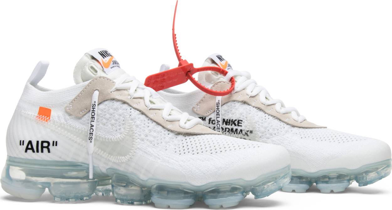 low priced 2ca45 f404d Shop the OFF-WHITE x Nike Air VaporMax  Part 2  Sneakers    530 USD