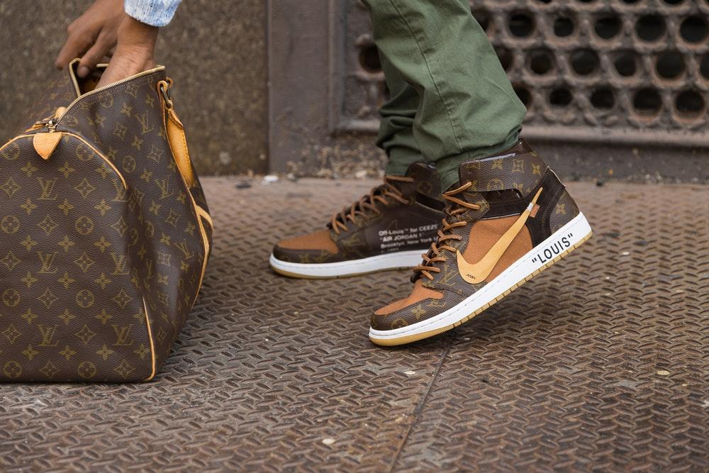 9f2e1138cd9f Sneaker of the century  Louis Vuitton x OFF-WHITE x Nike Air Jordan 1