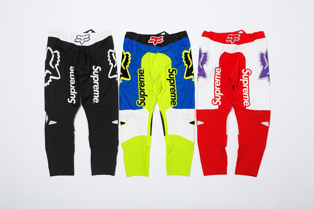 Supreme X Fox Racing Collaboration Available Now