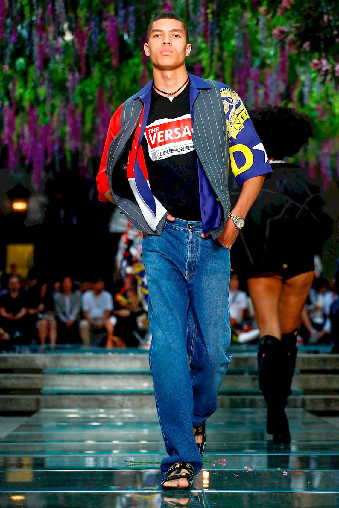 Versace Fashion Show, Menswear Collection, Spring Summer ...