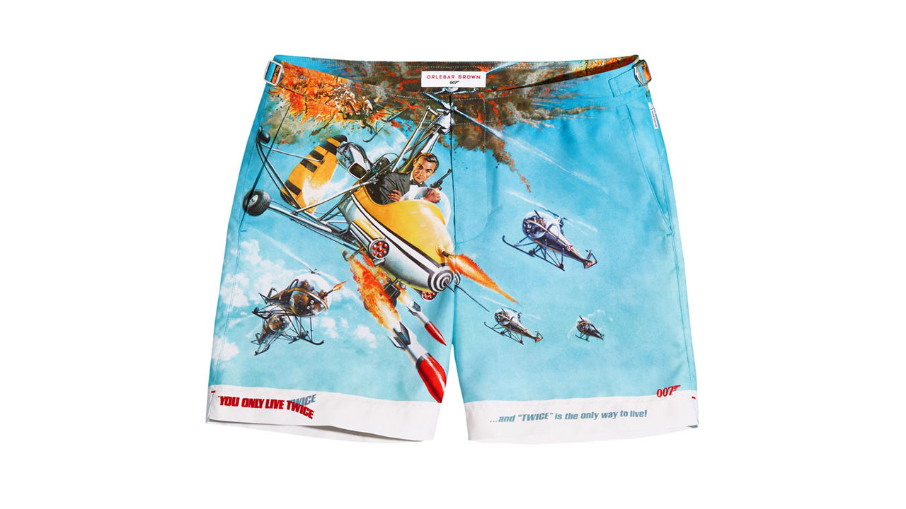 d6b1134852917 Swim in style with Orlebar Brown x James Bond board shorts - ICON