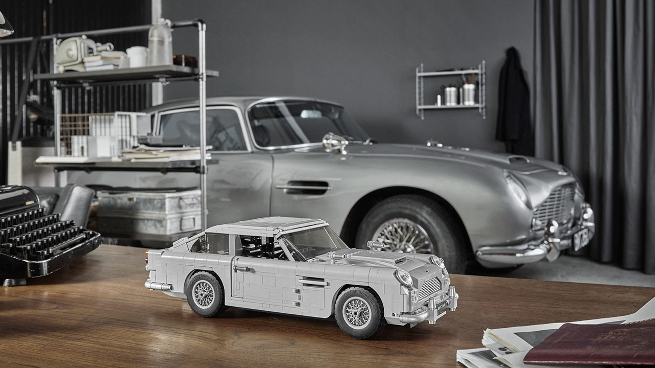 You Can Rebuild The James Bond Aston Martin Db5 With Lego Icon