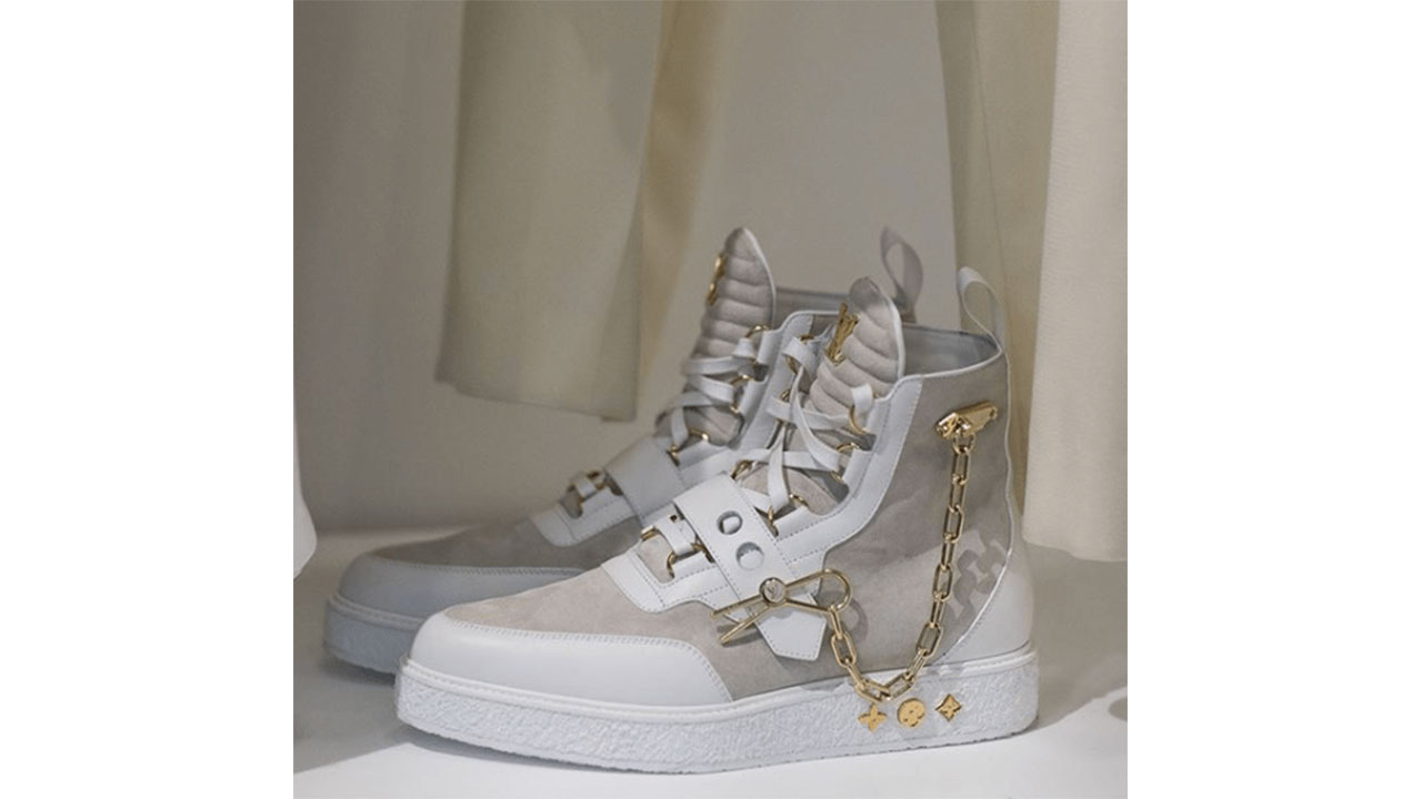 8c5e9ab6396 Up close and personal with Virgil Abloh's Louis Vuitton Sneakers - ICON