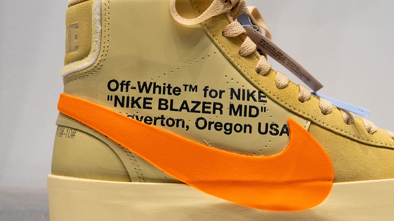proteína escarcha barajar  Off-White and Nike reveal the Blazer