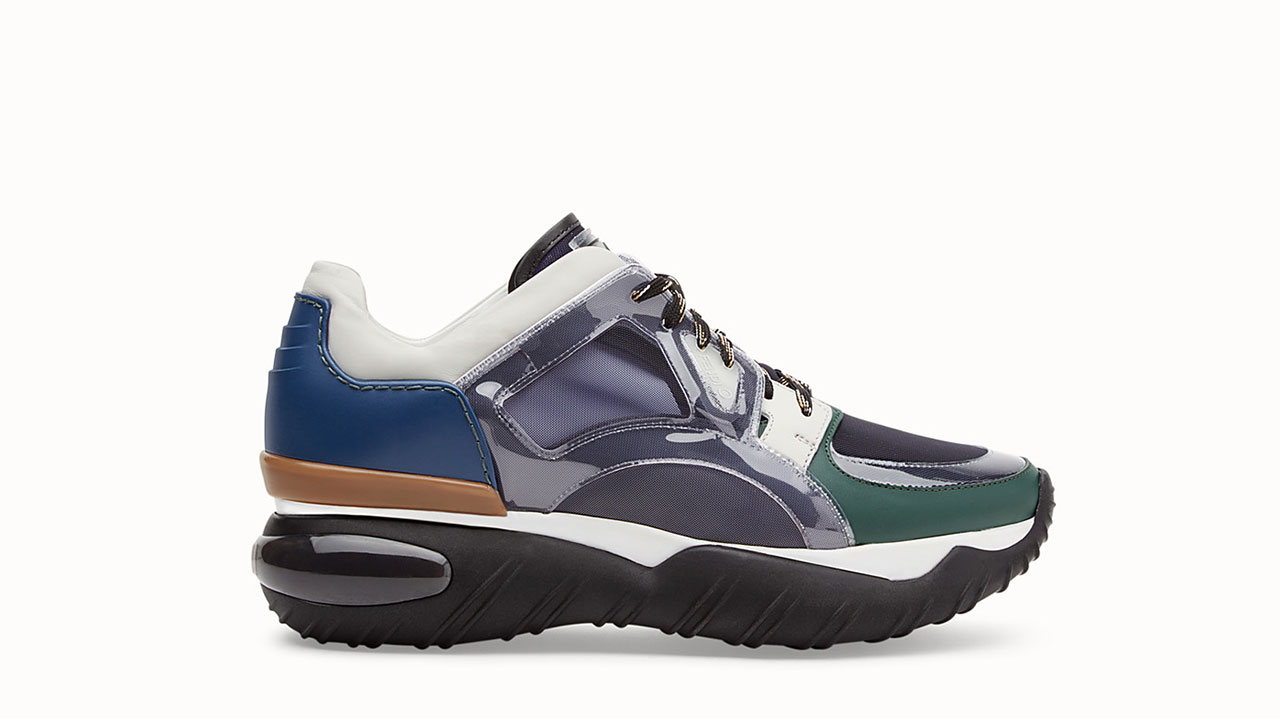Fendi Multicolour Vinyl Sneakers / $890 USD