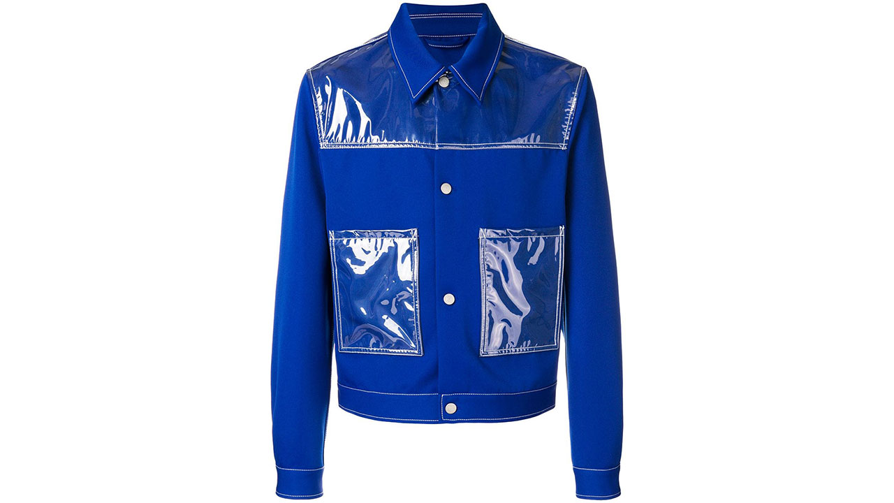 Maison Margiela Vinyl Patches Denim Jacket / $1,785 AUD