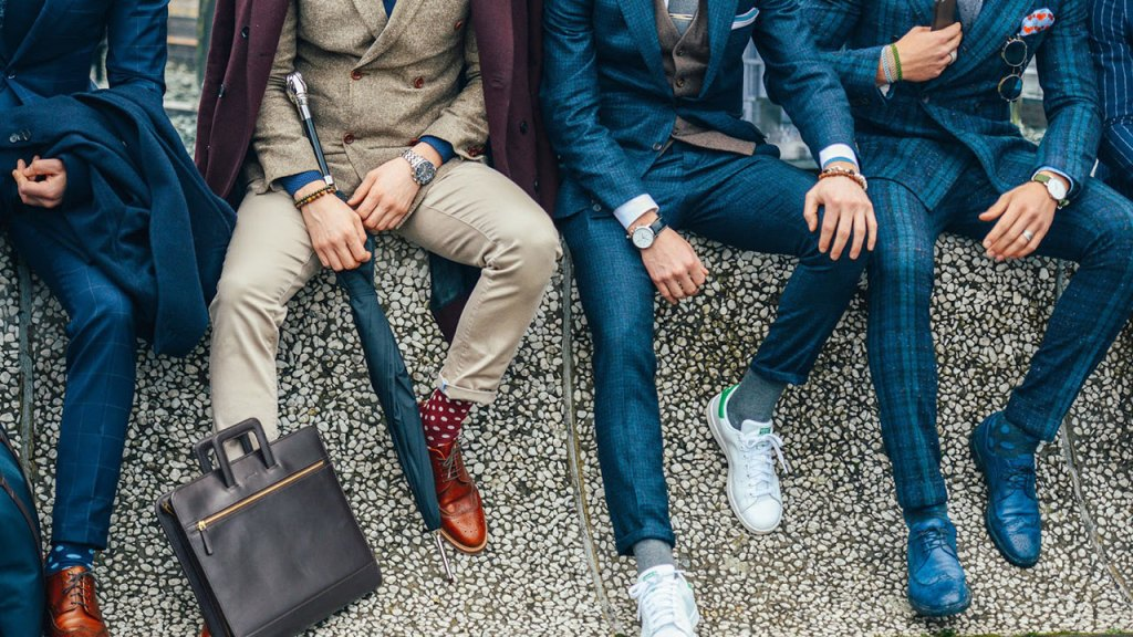 Why sneakers can be worn with suits
