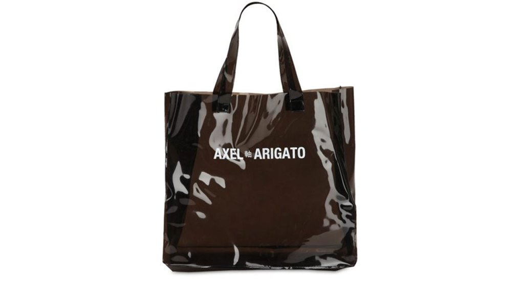 Axel Arigato Clear Grocery Tote Bag / $137 AUD