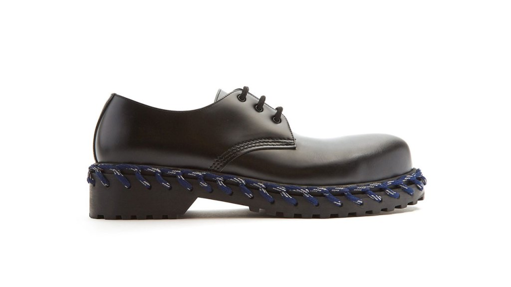 Balenciaga Derby Rope Lace Leather Shoes / $1,490 AUD