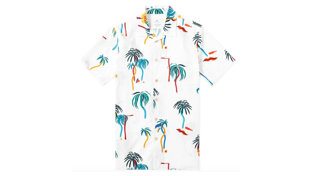 Paul Smith Palm Print Vacation Shirt / $205 AUD