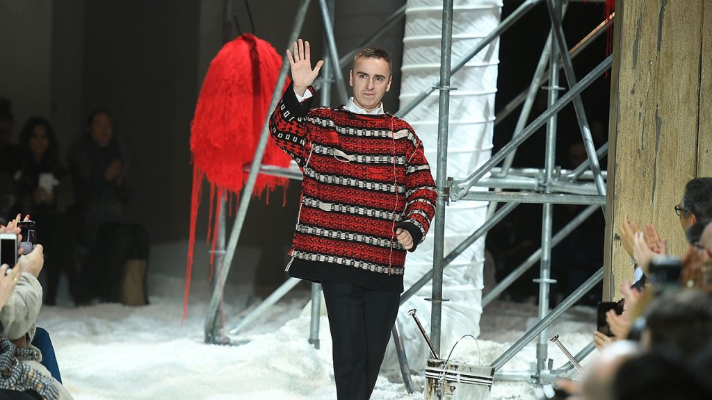 Raf Simons Could Be Joining Prada