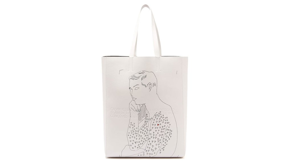 Calvin Klein 205W39NYC x Andy Warhol Leather Tote Bag / $1,935 AUD