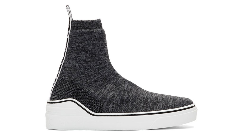 Givenchy Grey George V Sock Sneakers / $695 USD