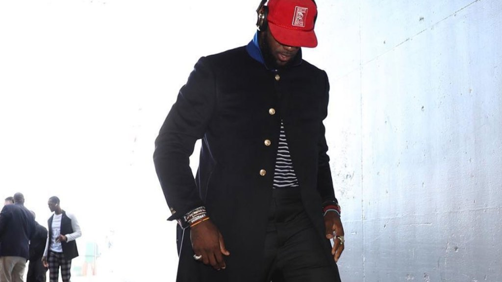 LeBron James' most stylish moments according to Instagram
