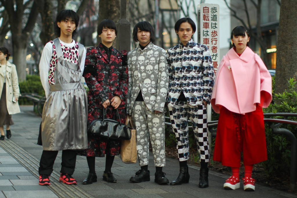 The weird and spectacularly wonderful street style at Amazon Fashion Week Tokyo