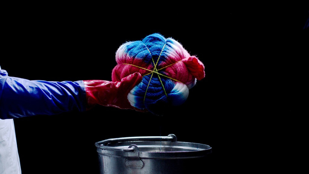 The art of tie-dye according to Prada