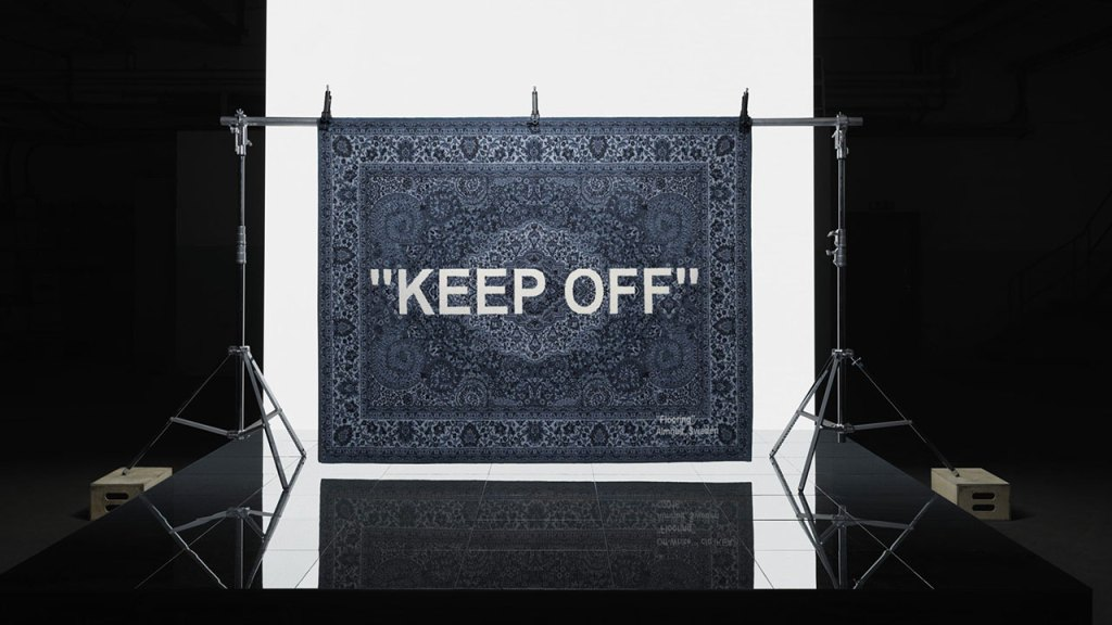 "IKEA is giving Australians the chance to win Virgil Abloh's ""KEEP OFF"" rug"