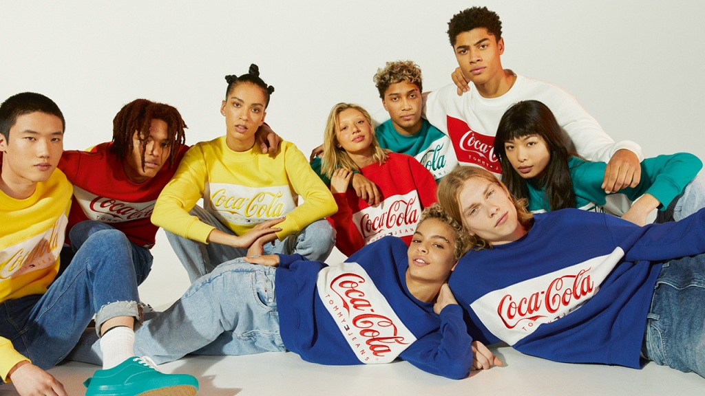 American icons fuse for a Tommy Hilfiger x Coca-Cola capsule