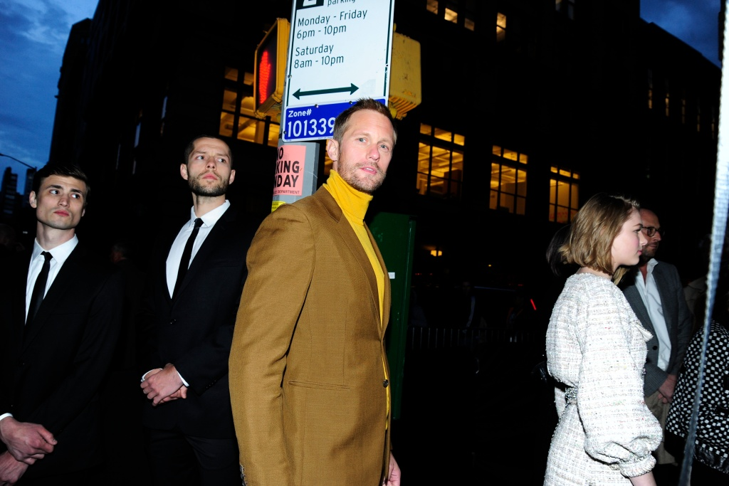 Alexander Skarsgård offers up every flavour of mustard