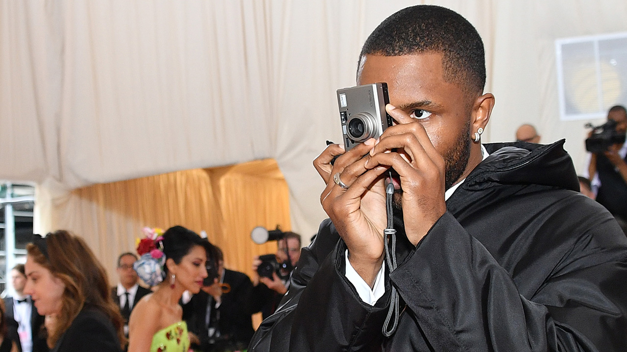 Met Gala magic through the lens of Frank Ocean