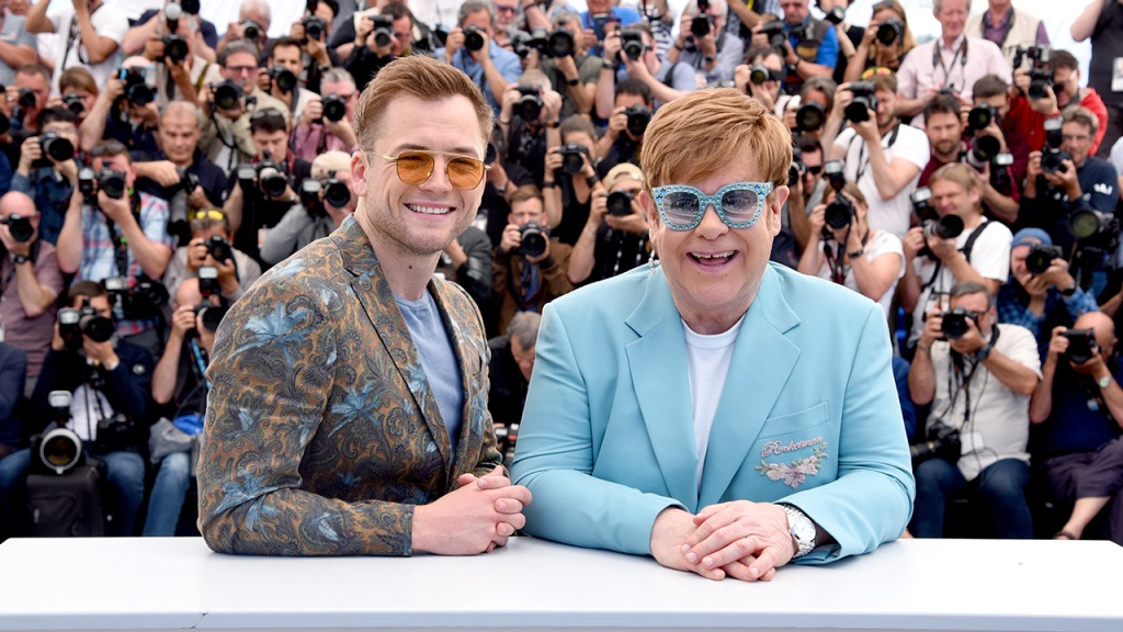Rocketman: Elton John and Taron Egerton's Cannes Festival performance serves a stunning prelude to Sydney's premiere