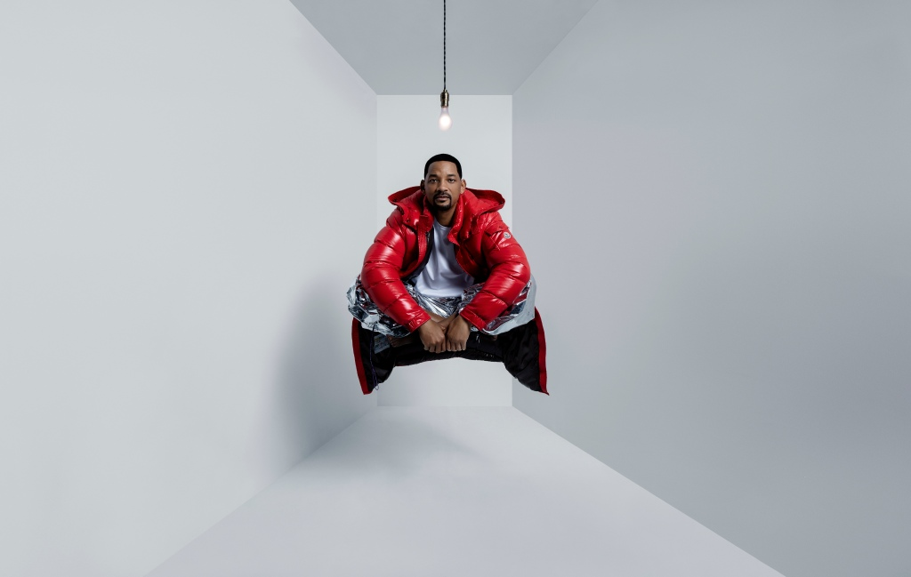 Will Smith in Moncler is our winter mood