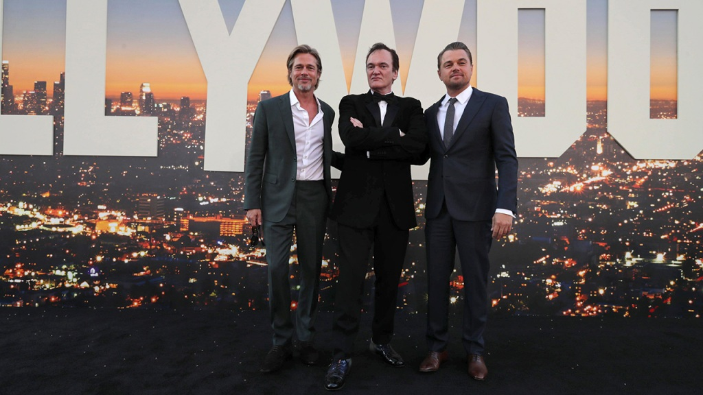 The 'Once Upon A Time In Hollywood' premiere made a case for crisp suiting