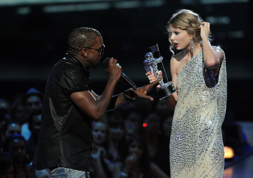 VMAs: Remember when Kanye West stormed the stage during Taylor Swift's acceptance speech?