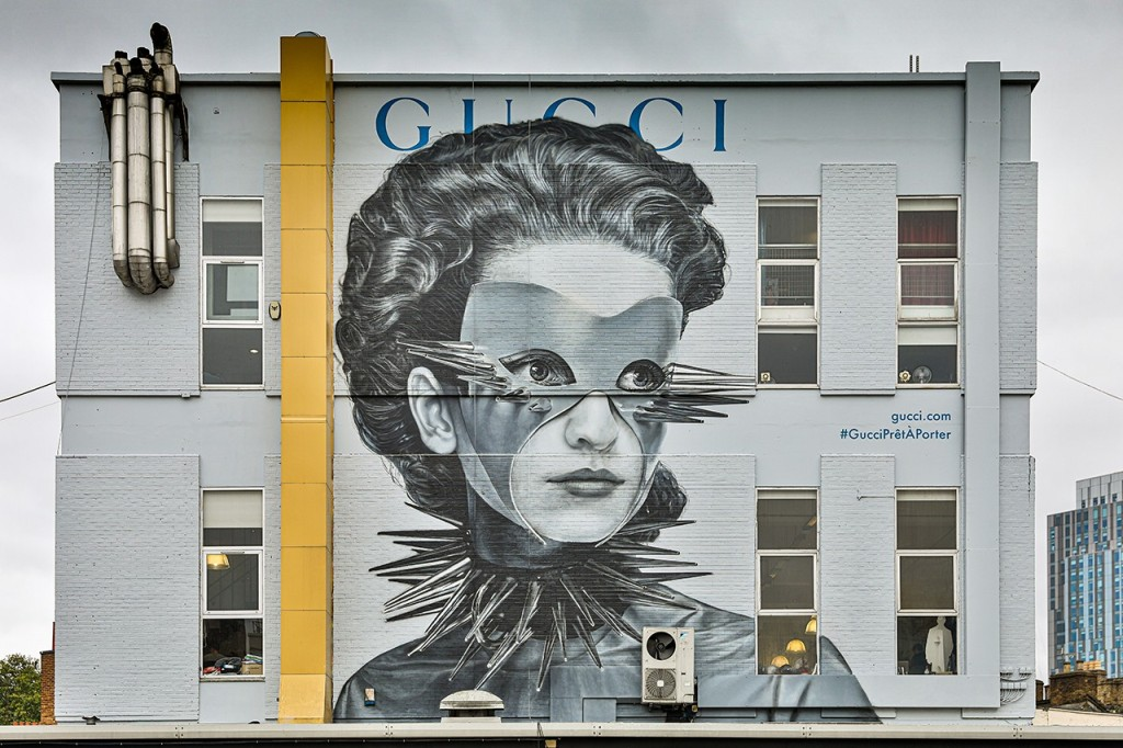 Have you seen this Gucci mural?