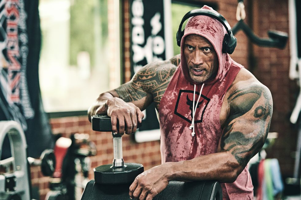Delegar aleatorio Psicológico  Dwayne Johnson is stuck between Project Rock and a hard place (Under Armour)  - ICON