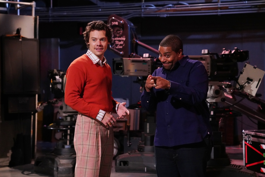 Can we talk about Harry Styles' week of impressive fits?