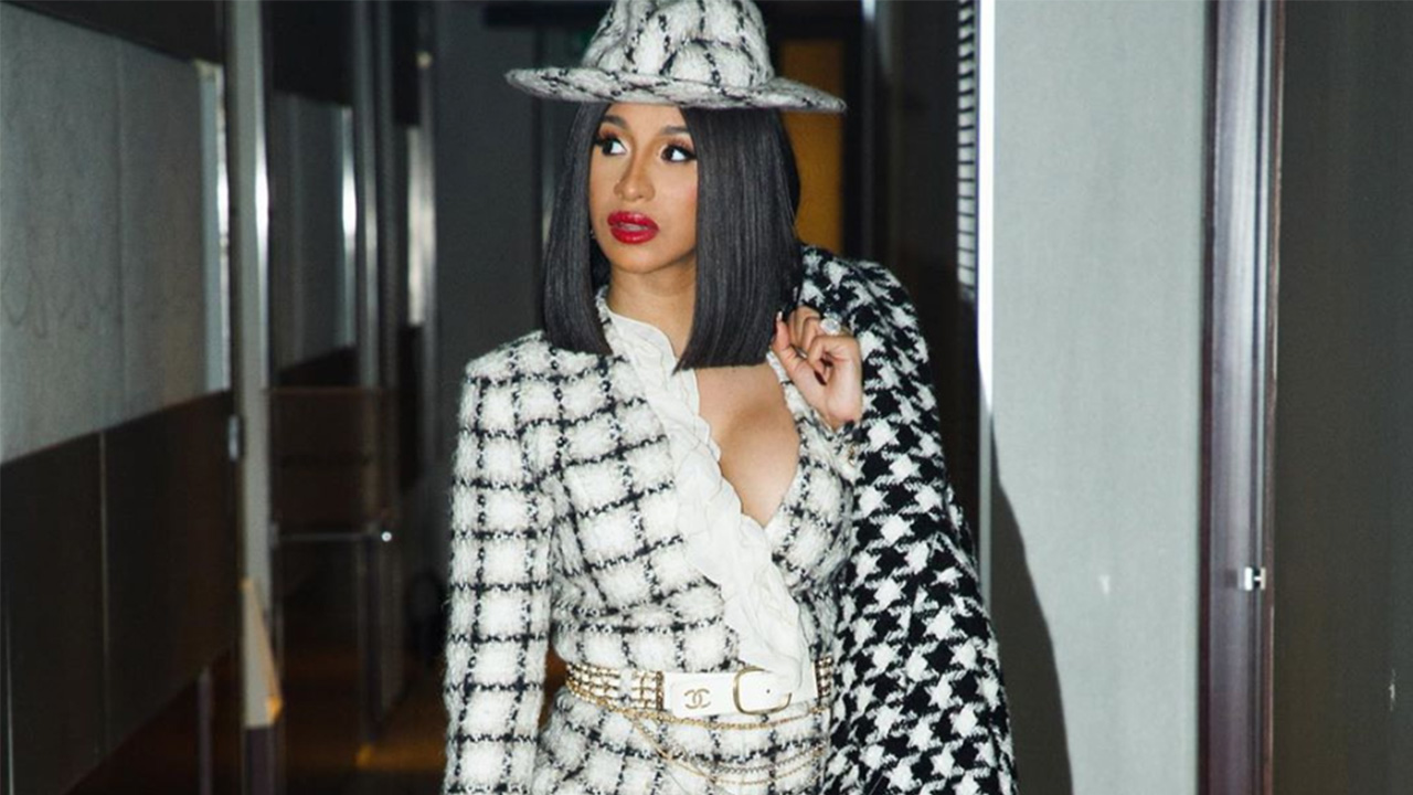 Cardi B Just Got A Giant New Offset Tattoo On Her Leg: Cardi B Just Got Philosophical About Instagram's Bullying