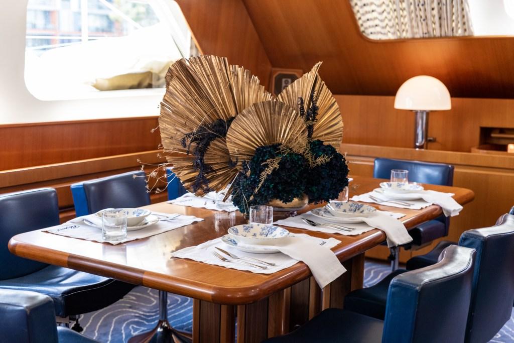 Une visite (royale) à l'intérieur du yacht de Chopard