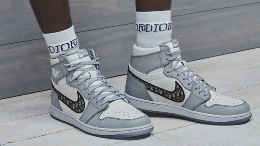 Dior Air Jordan Sneakers