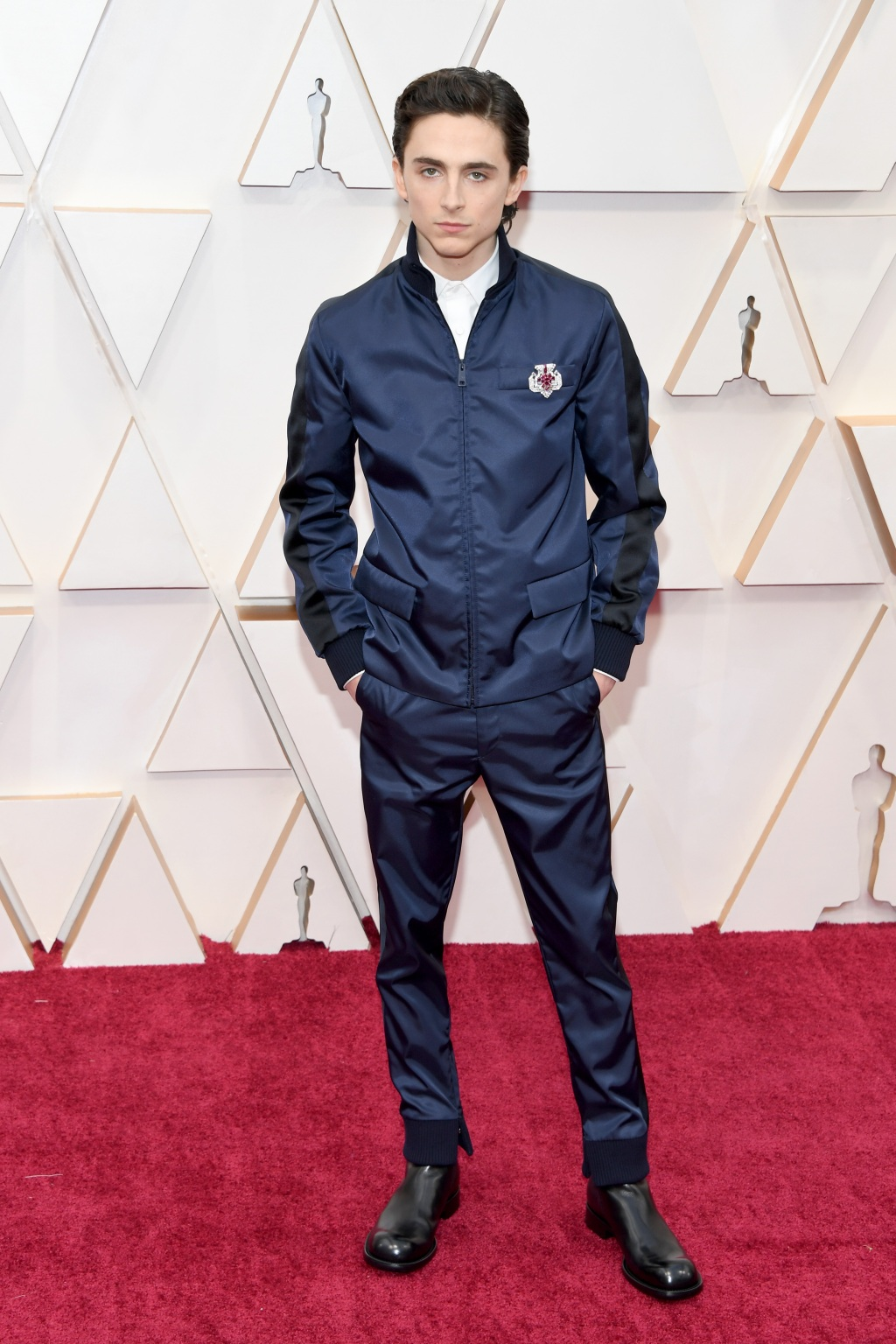 We Have A Bone To Pick With Whoever Faked Timothée Chalamet's Oscars Look