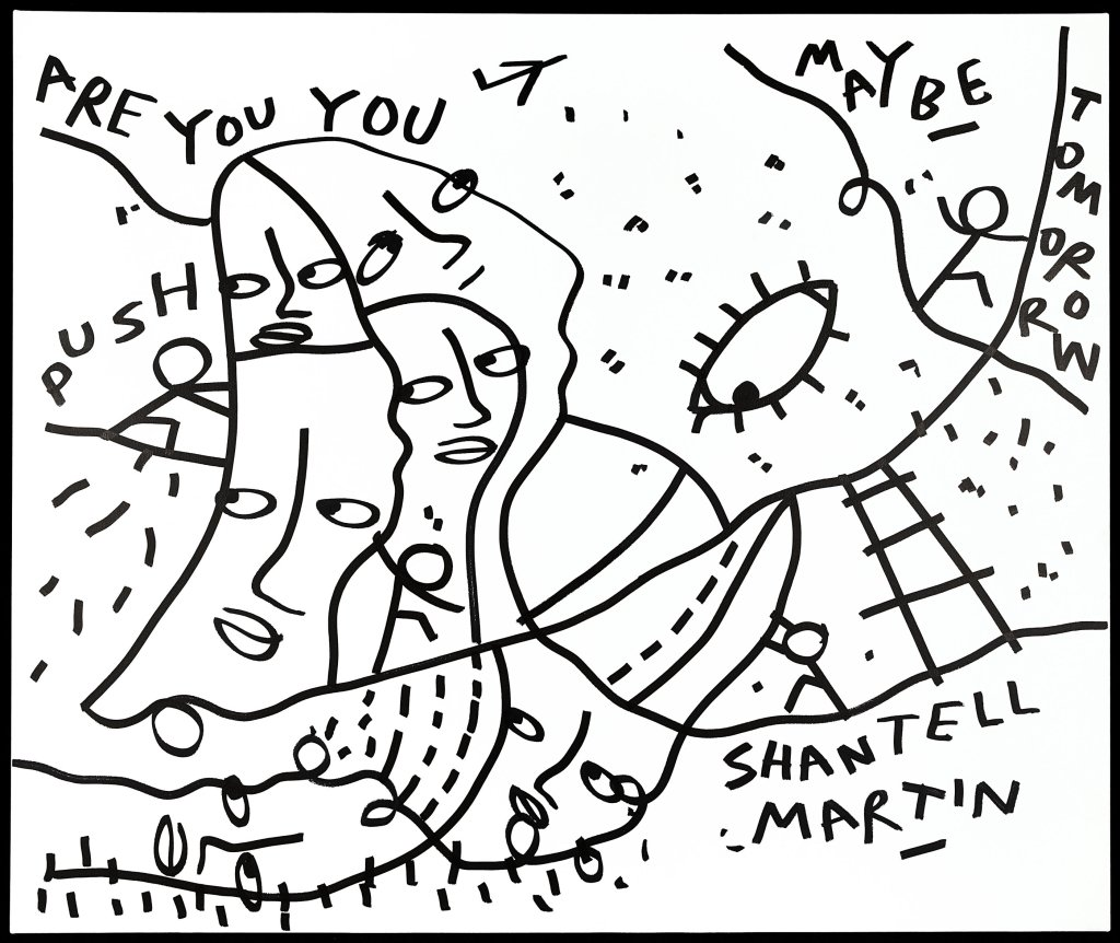 Shantell Martin's Inspiration Comes From An Unlikely Place