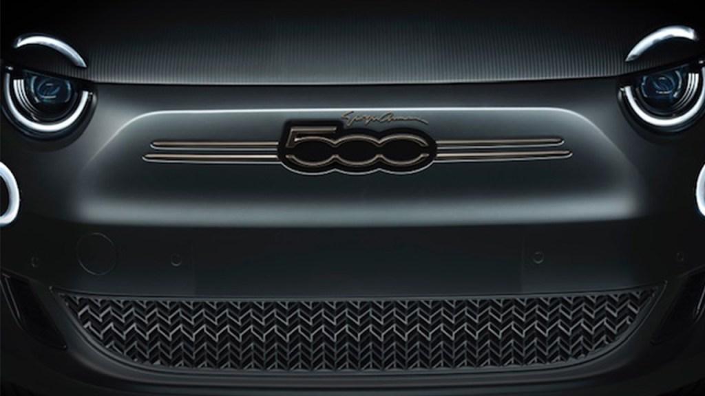 Giorgio Armani Designs A One-Off Fiat 500 To Instil Positivity Across Italy