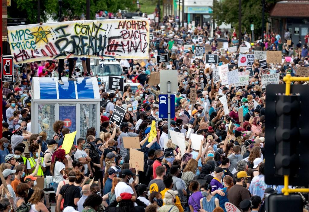 geroge floyd riots 2020