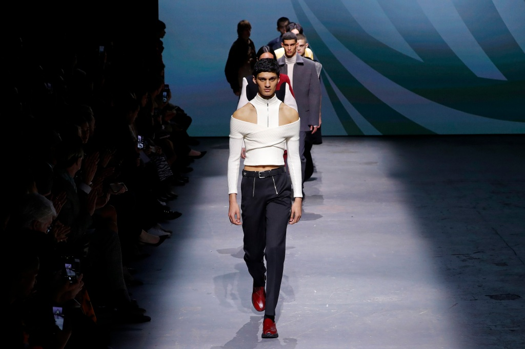 London Fashion Week runway