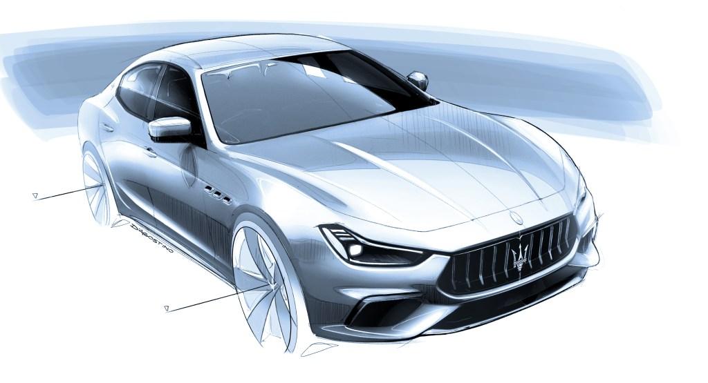 Maserati Ghibli Hybrid car