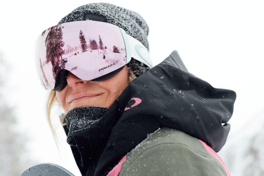 Oakley snow gear Jamie Anderson