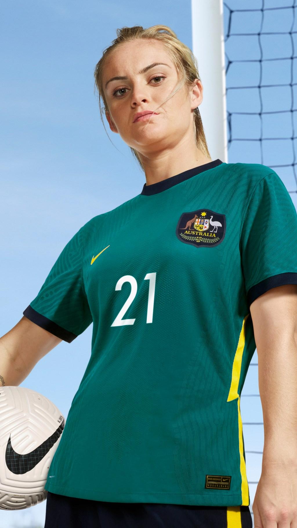 Nike Australia Soccer Kit