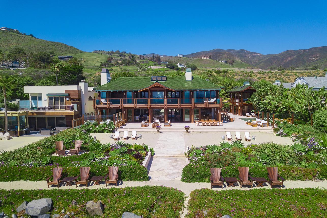 Pierce Brosnan Malibu house James Bond