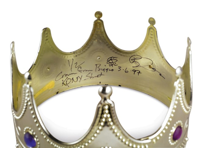 Biggie Smalls crown auction