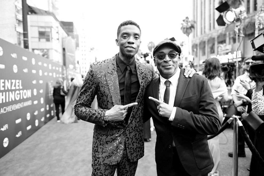 Spike Lee Chadwick Boseman Da 5 Bloods