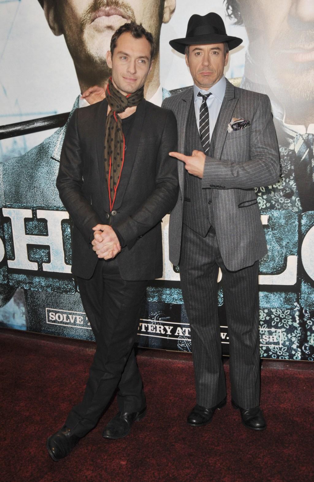 Robert Downey Jr. Sherlock Holmes