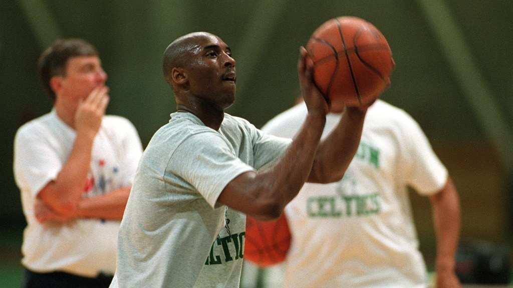 Kobe Bryant basketball hoop