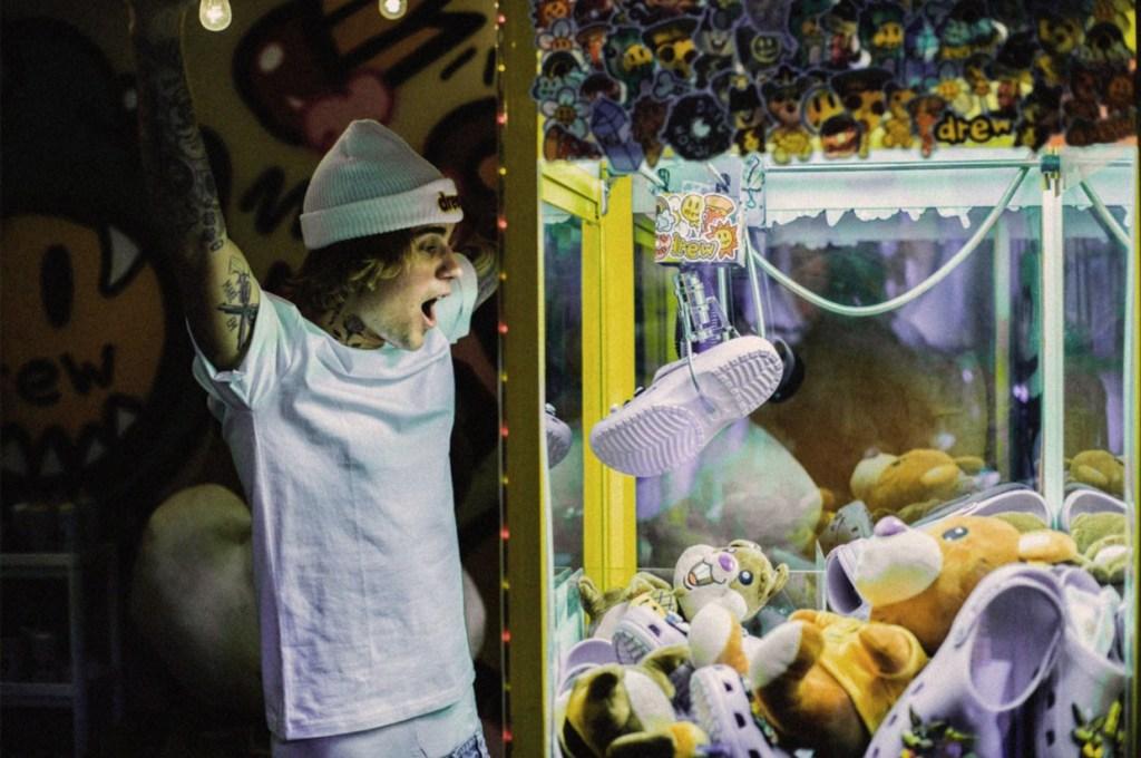Justin Bieber Crocs Collab