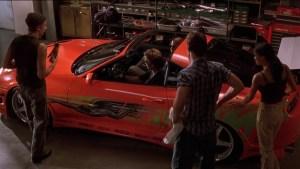 Paul Walker's Orange Toyota Supra