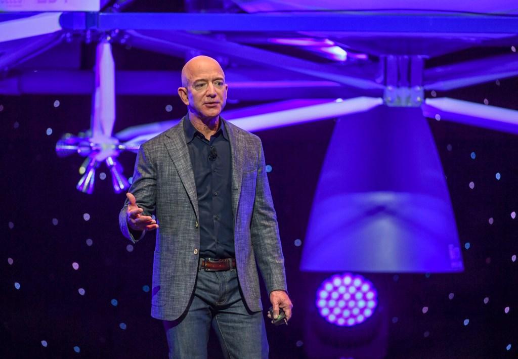 Jeff Bezos Space